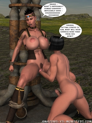 Amazons & Monsters- Renegades free Porn Comic sex 34