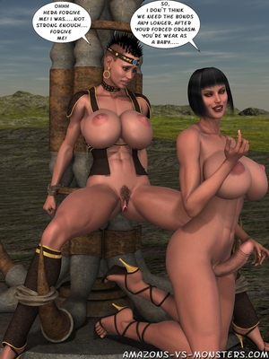 Amazons & Monsters- Renegades free Porn Comic sex 35