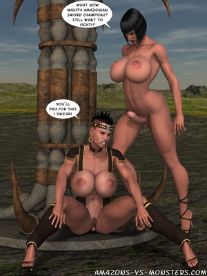 Amazons & Monsters- Renegades free Porn Comic sex 36