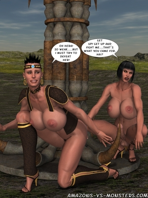 Amazons & Monsters- Renegades free Porn Comic sex 37