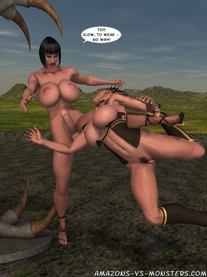 Amazons & Monsters- Renegades free Porn Comic sex 38