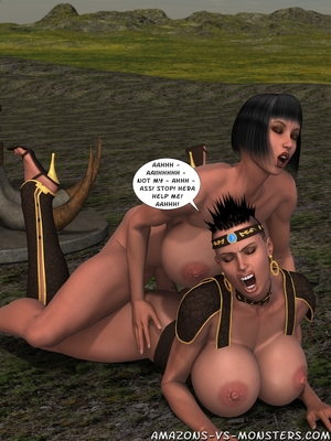 Amazons & Monsters- Renegades free Porn Comic sex 43