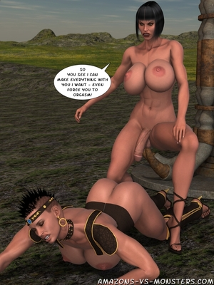 Amazons & Monsters- Renegades free Porn Comic sex 55