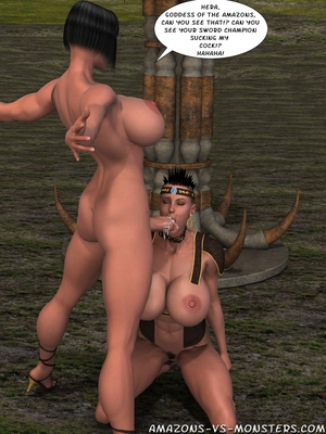 Amazons & Monsters- Renegades free Porn Comic sex 59