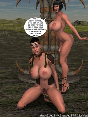 Amazons & Monsters- Renegades free Porn Comic sex 60