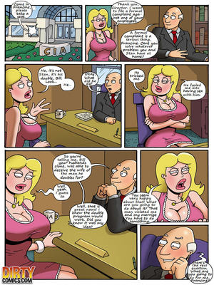 Incest Comics American Milf (American Dad) Porn Comic 06
