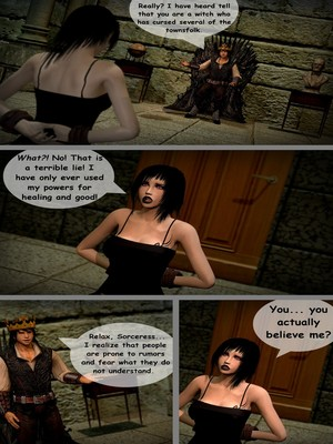 3D : Aughterkorse- The Futanari King Porn Comic sex 04