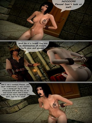 3D : Aughterkorse- The Futanari King Porn Comic sex 06
