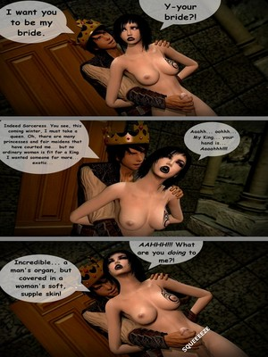 3D Porn Comics Aughterkorse- The Futanari King Porn Comic 08