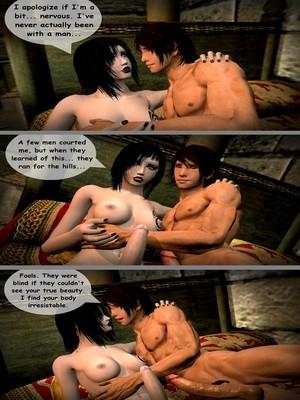 3D : Aughterkorse- The Futanari King Porn Comic sex 15