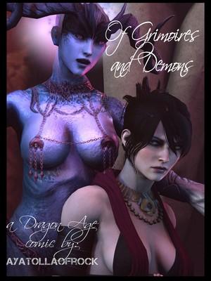 Porn Comics - 3D : AyatollaOfRock- Of Grimoires and Demons [Dragon Age] Porn Comic