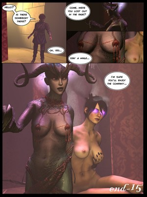 3D : AyatollaOfRock- Of Grimoires and Demons [Dragon Age] Porn Comic