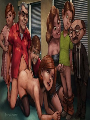 Incest Comics Azorador- Helen Pratt Porn Comic 13