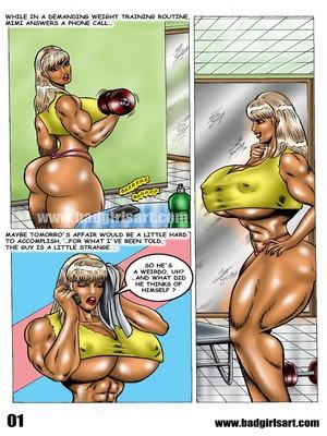 Porn Comics - Badgirl Sart- Mimi Business Dinner free Porn Comic