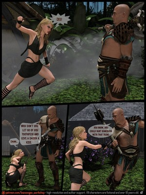 3D Porn Comics [Bazoongas Workshop] – Ancient Ritual Porn Comic 10