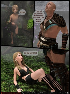 3D Porn Comics [Bazoongas Workshop] – Ancient Ritual Porn Comic 15