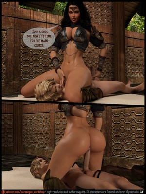 3D Porn Comics [Bazoongas Workshop] – Ancient Ritual Porn Comic 35