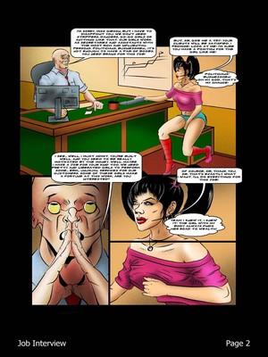 Porncomics BDSM Job Interview Porn Comic 03