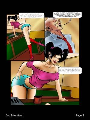 Porncomics BDSM Job Interview Porn Comic 04