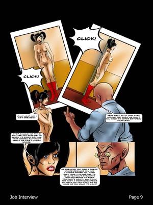 Porncomics BDSM Job Interview Porn Comic 10