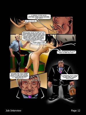 Porncomics BDSM Job Interview Porn Comic 13