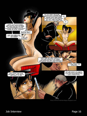 Porncomics BDSM Job Interview Porn Comic 17