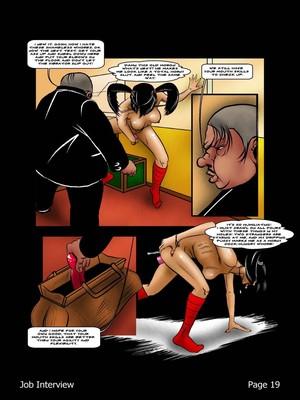 Porncomics BDSM Job Interview Porn Comic 20