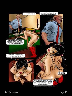 Porncomics BDSM Job Interview Porn Comic 27