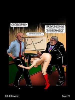 Porncomics BDSM Job Interview Porn Comic 28