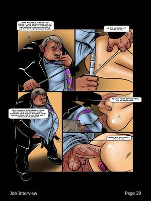 Porncomics BDSM Job Interview Porn Comic 30