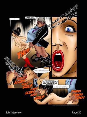 Porncomics BDSM Job Interview Porn Comic 31