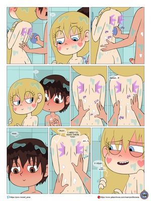 Between Friends [Star vs. the Forces of Evil] free Porn Comic