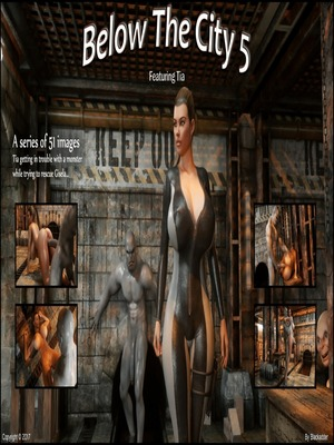 Porn Comics - 3D : Blackadder- Below The City 5 Porn Comic