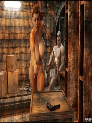 3D Porn Comics Blackadder- Below The City 5 Porn Comic 48