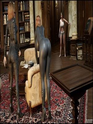 3D Porn Comics Blackadder- Dickgirls 11 Porn Comic 06
