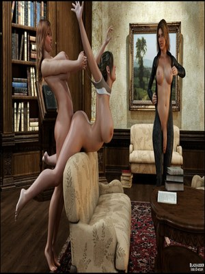 3D Porn Comics Blackadder- Dickgirls 11 Porn Comic 17
