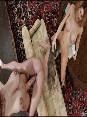 3D Porn Comics Blackadder- Dickgirls 11 Porn Comic 21