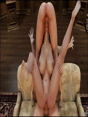3D : Blackadder- Dickgirls 11 Porn Comic sex 32