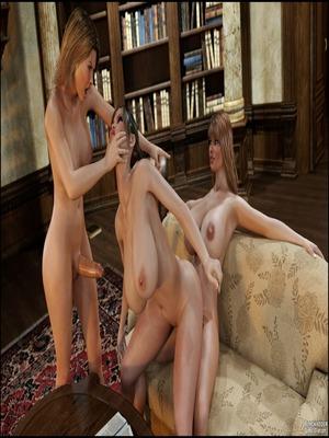 3D : Blackadder- Dickgirls 11 Porn Comic sex 34