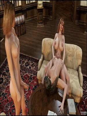 3D Porn Comics Blackadder- Dickgirls 11 Porn Comic 36