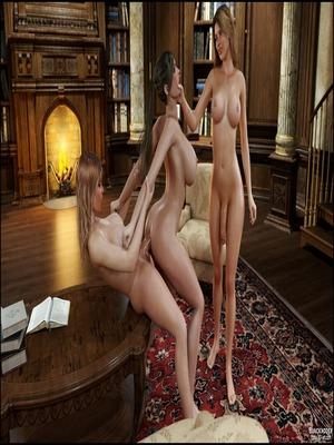 3D Porn Comics Blackadder- Dickgirls 11 Porn Comic 66