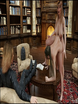 3D Porn Comics Blackadder- Dickgirls 11 Porn Comic 75