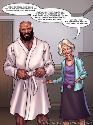 Interracial Comics BlacknWhite- Art Class- Bnw Porn Comic 03