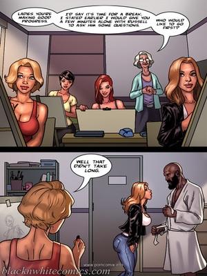 Interracial Comics BlacknWhite- Art Class- Bnw Porn Comic 09