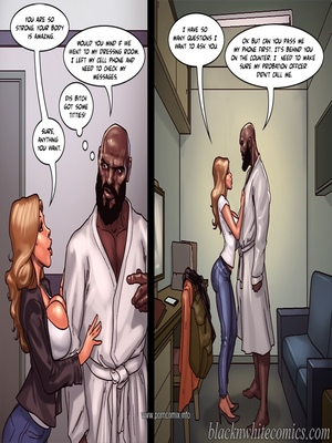 Interracial : BlacknWhite- Art Class- Bnw Porn Comic sex 10