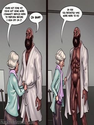 Interracial Comics BlacknWhite- Art Class- Bnw Porn Comic 102
