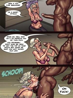 Interracial Comics BlacknWhite- Art Class- Bnw Porn Comic 104