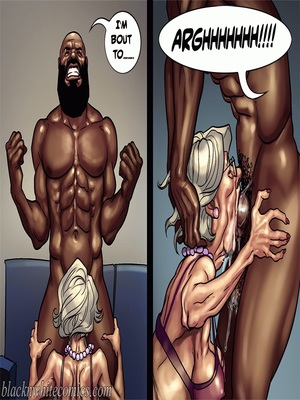 Interracial : BlacknWhite- Art Class- Bnw Porn Comic sex 107