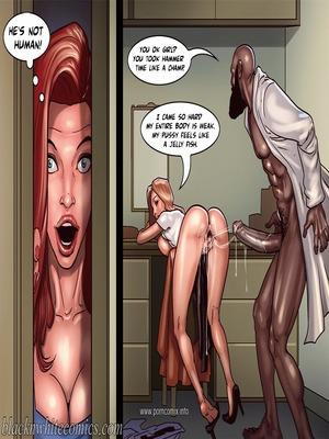 Interracial : BlacknWhite- Art Class- Bnw Porn Comic sex 18