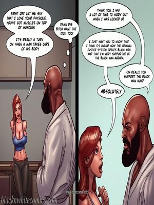 Interracial : BlacknWhite- Art Class- Bnw Porn Comic sex 26